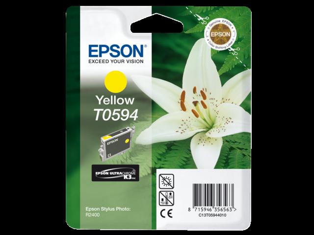 Inkcartridge epson t059440 geel
