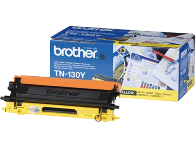 Tonercartridge brother tn-130y geel