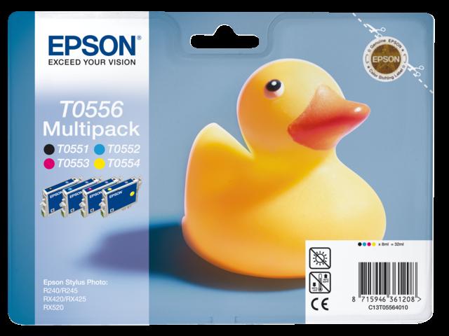 Inkcartridge epson t055640 foto pak kleur