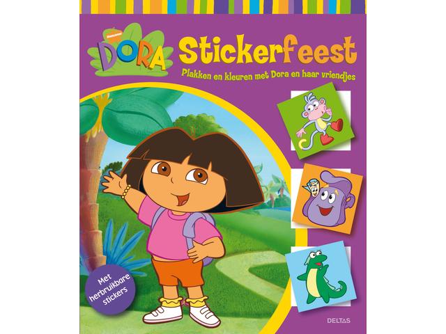 Stickerboek deltas dora stickerfeest