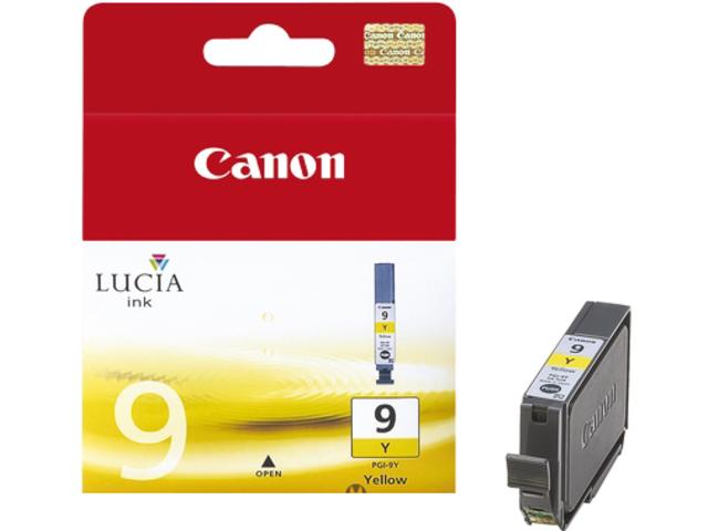 Inkcartridge canon pgi-9y geel