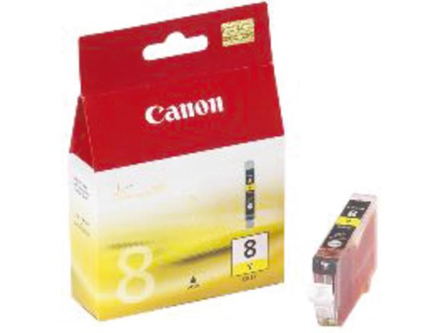 Inkcartridge canon cli-8y geel