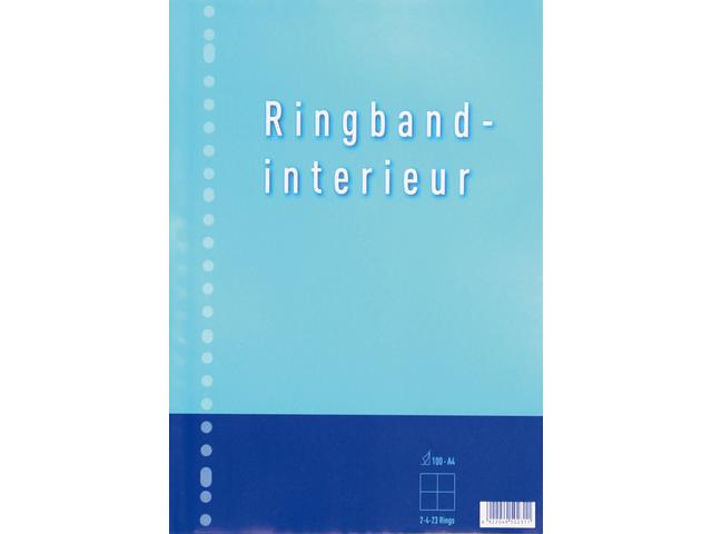 Interieur 23-rings 70gr 50vel ruit 10mm