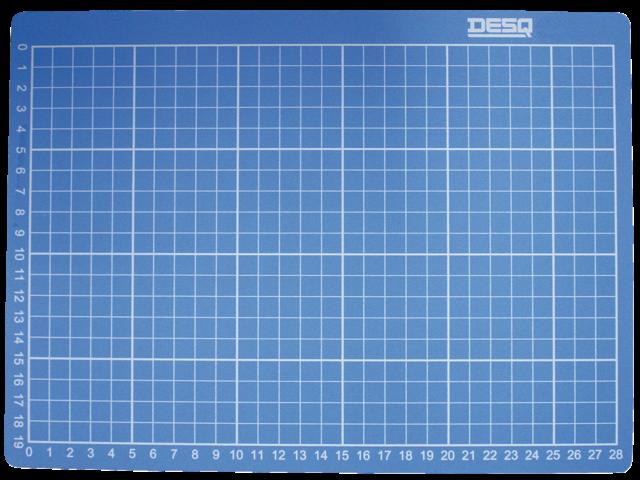 Snijmat desq a1 594x841mm blauw