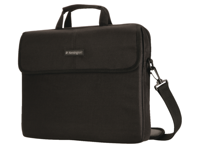 Laptoptas kensington sp17 17inch classic sleeve zwart