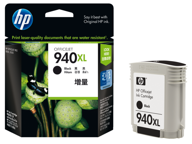 Inkcartridge hp c4906ae 940xl zwart hc
