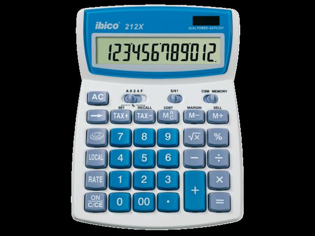 Rekenmachine ibico 212x