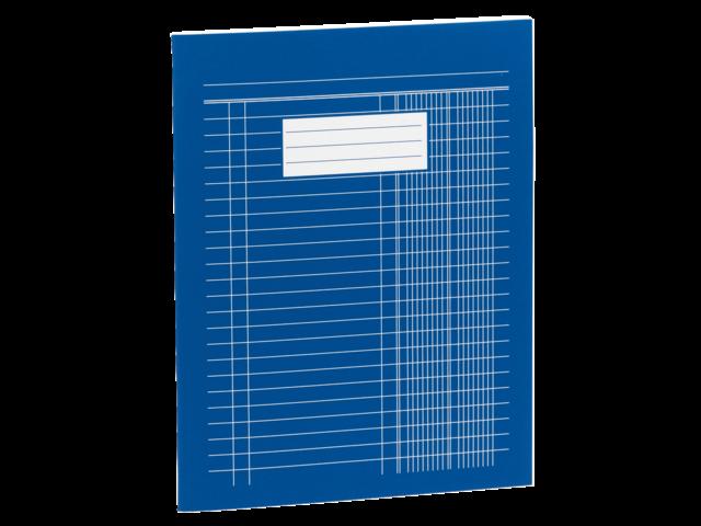 Boekhoudschrift 165x210mm kasboek met 6 kolommen