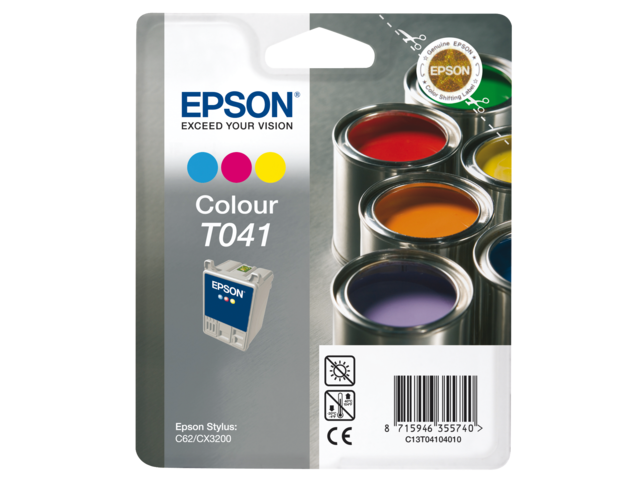 Inkcartridge epson t041040 kleur