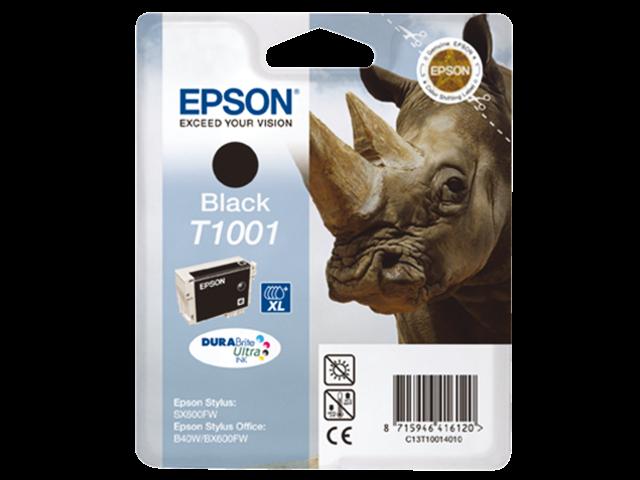 Inkcartridge epson t100140 zwart