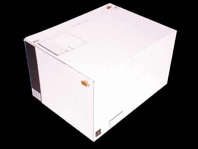 Postpakketbox 7 cleverpack 485x369x269mm wit 5stuks