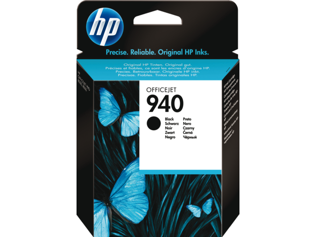 Inkcartridge hp c4902a 940 zwart