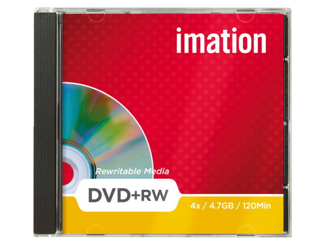 Imation ReWritable dvd's