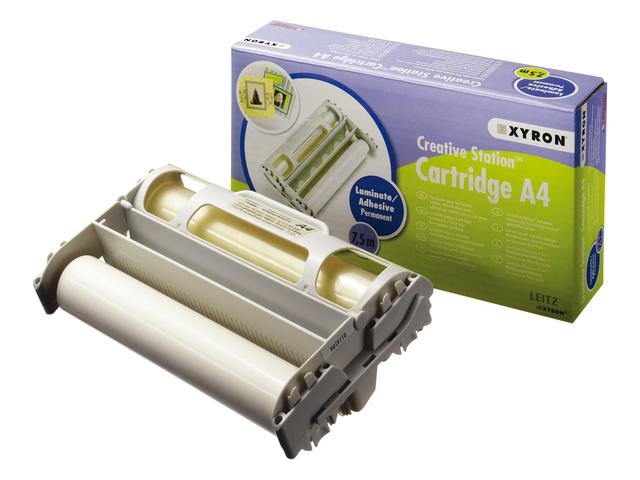 Lamineercassette xyron a4 zelfklevend 7.5meter