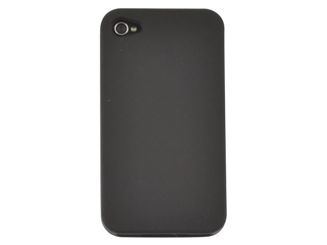 Telefoonhoes dresz silicone iphone 4/4s zwart