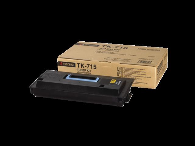 Toner kyocera tk-715k zwart
