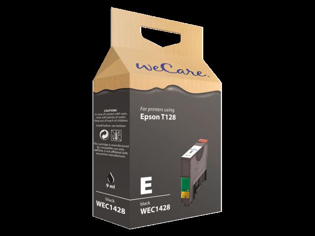 Inkcartridge wecare epson t128140 zwart