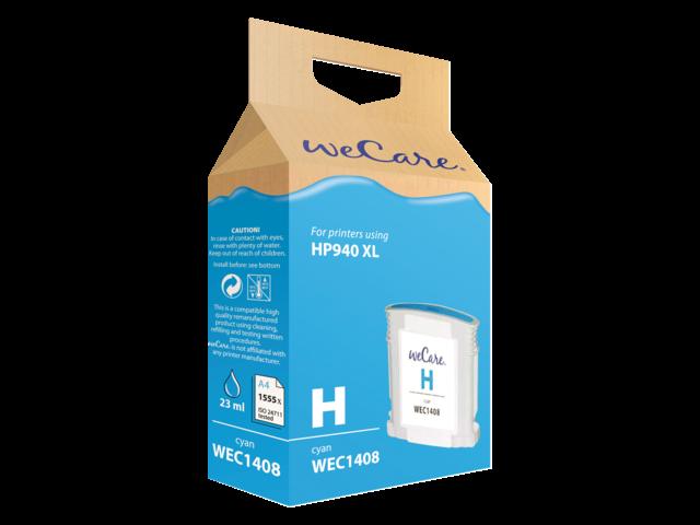Inkcartridge wecare hp c4907ae 940xl blauw hc
