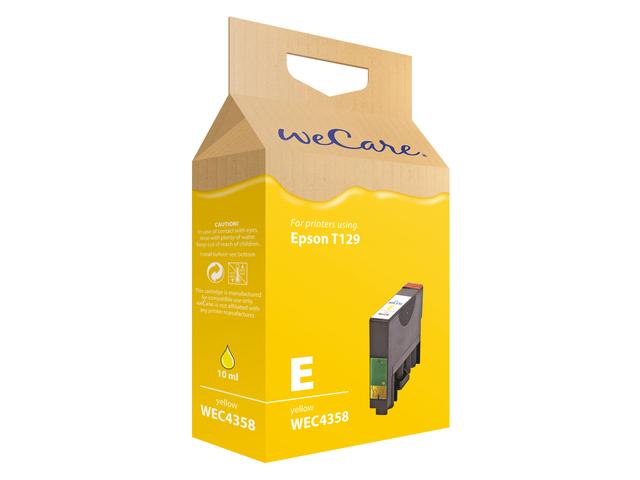 Inkcartridge wecare epson t129440 geel