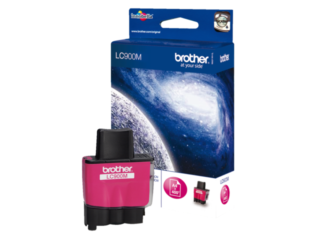 Inkcartridge brother lc-900m rood