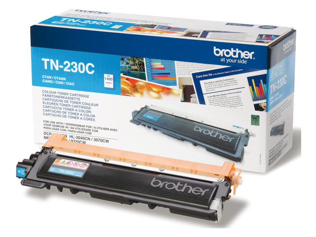 Tonercartridge brother tn-230c blauw