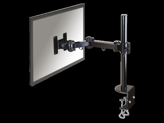 Flatscreenarm newstar d960 1 scherm met klem zwart
