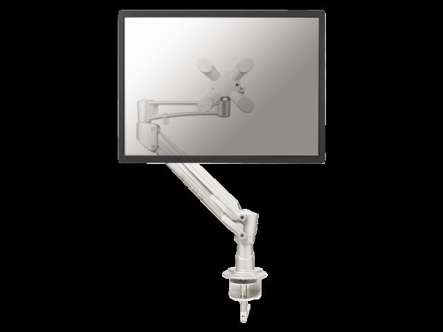 Flatscreenarm newstar d940 1 scherm zilver