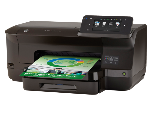 Inkjetprinter hp officejet pro 251dw