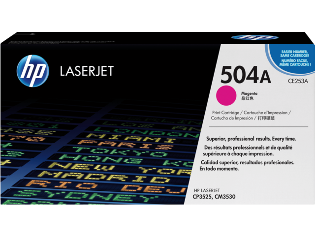 HP laserprintertoners 500 serie