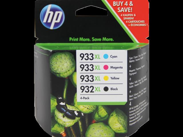 Inkcartridge hp c2p42ae 932xl zwart+3 kleuren hc