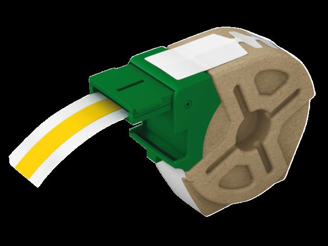 Labeltape leitz icon labelprint 12mmx10m geel