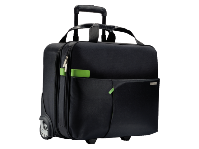 Laptop trolley leitz smart traveller 15.6inch zwart