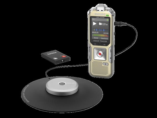 Digital voice recorder philips dvt 8000