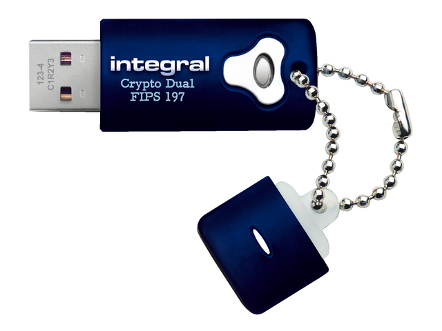 Usb-stick 2.0 integral fd crypto dual 32gb