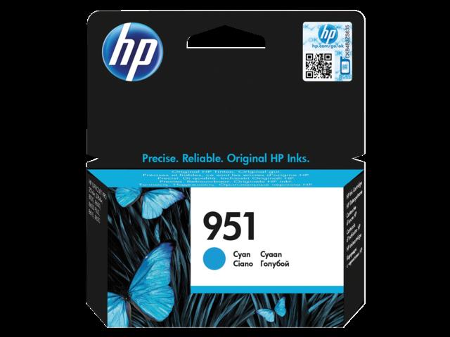 Inkcartridge hp cn050ae 951 blauw