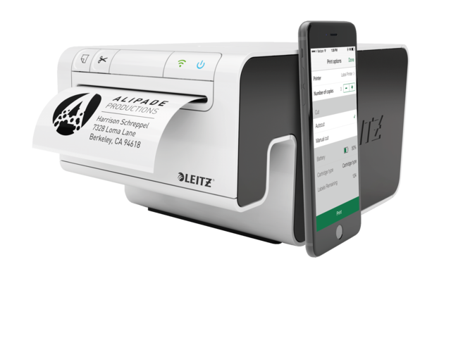 Photo: LABELPRINTER LEITZ ICON