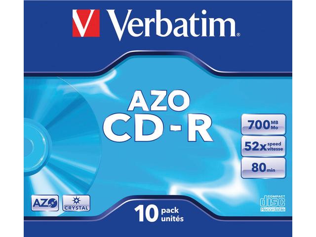 CD-R VERBATIM 700MB 52X JC
