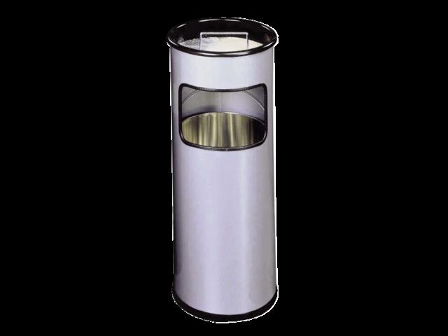 PAPIER/ASBAK DURABLE 62X26CM ROND ZILVER METALLIC