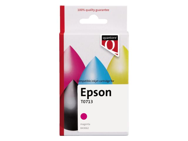 INKCARTRIDGE QUANTORE EPS T071340 ROOD