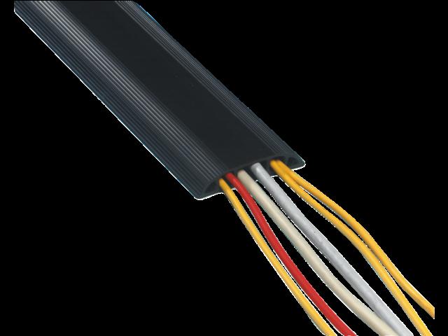 Kabelgeleider flexibel 1.5meter zwart