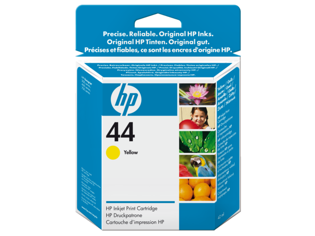 Inkcartridge hp 51644y 44 geel