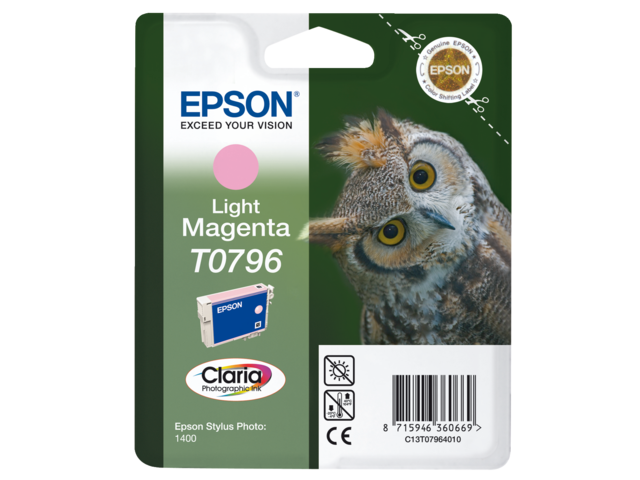 Inkcartridge epson t079640 lichtrood