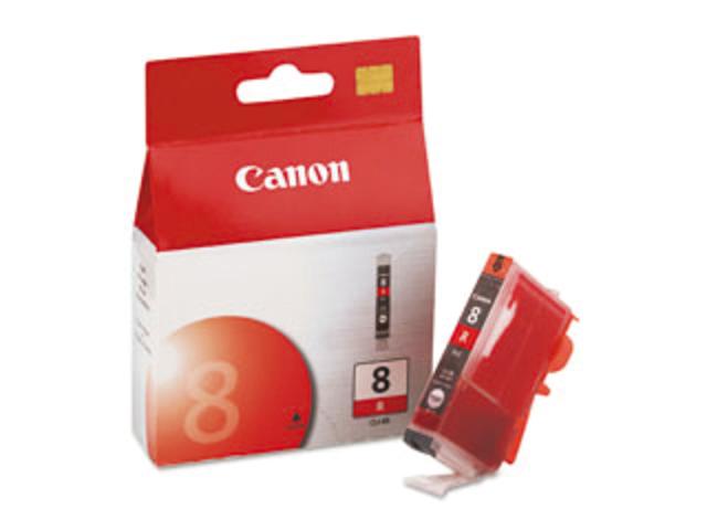 Inkcartridge canon cli-8r rood