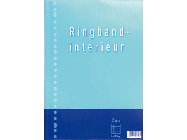 Interieur 23-rings 70gr 50vel ruit 5mm