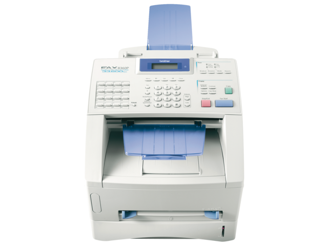 Laserfax Brother 8360P 2