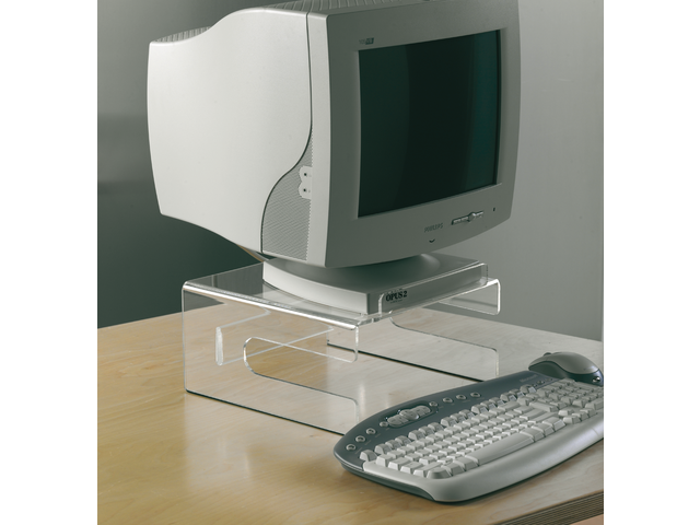 Flatscreenstandaard 310x155x320mm opus +toetsenbord transpar