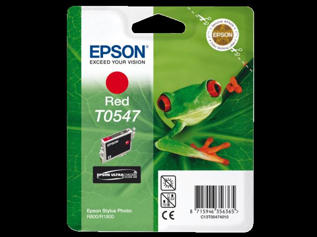 Inkcartridge epson t054740 rood