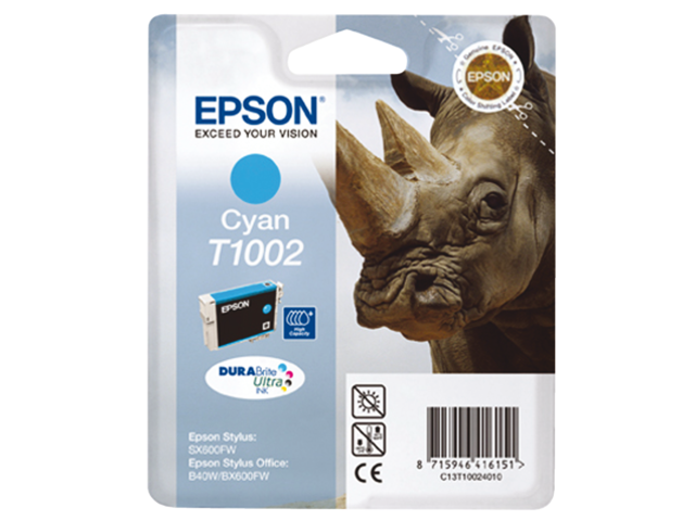 Inkcartridge epson t100240 blauw