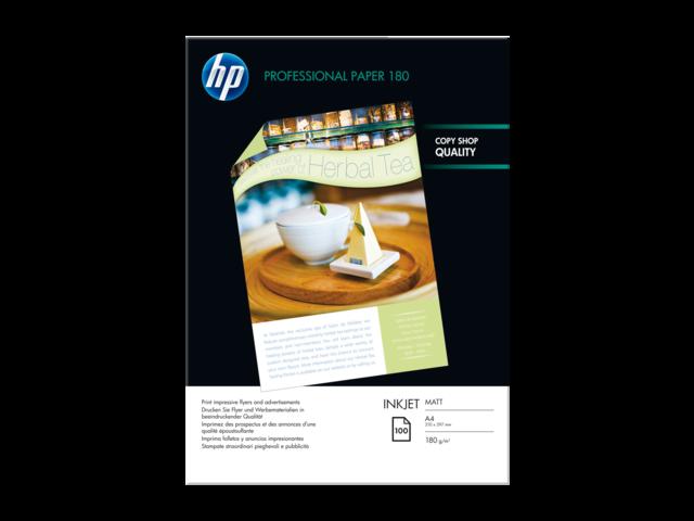 INKJETPAPIER HP Q6592A A4 180GR MAT