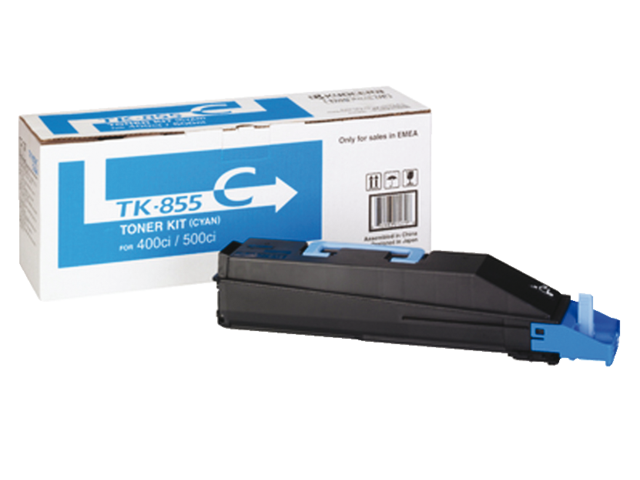 Toner kyocera tk-855c blauw